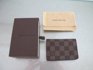 Louis Vuitton Kartenetui Damier Ebene Canvas NEU 100% Original Visitenkartenetui