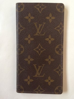 Louis Vuitton Card Case multicolored linen