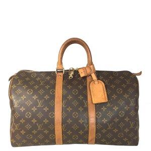 Louis Vuitton Keepall 45 Monogram Canvas Tasche Reisetasche