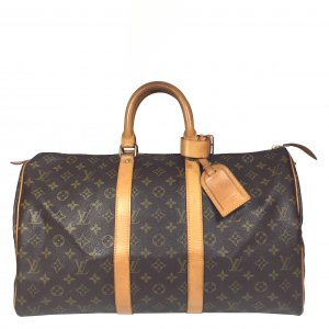 Louis Vuitton Keepall 45 Monogram Canvas Tasche Reisetasche Weekender