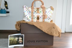 Louis Vuitton Keepall 45 Monogram multicolore Reisetasche Handtasche Weekender