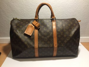 Louis Vuitton Keepall 50 Monogram Canvas Reisetasche
