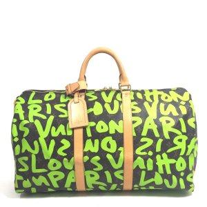 Louis Vuitton Keepall 50 Monogram Graffiti Canvas Reisetasche