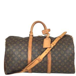 Louis Vuitton Keepall 50 Reisetasche Monogram Canvas Tasche Schulterriemen