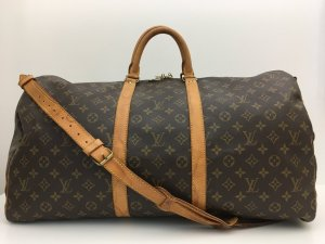Louis Vuitton Keepall 55 Band. Reisetasche