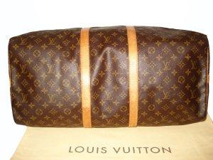 LOUIS VUITTON KEEPALL 55 BANDOULIERE REISETASCHE TRAVEL BAG CANVAS NP: 1300 EUR!