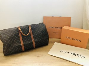 Louis Vuitton Travel Bag multicolored leather