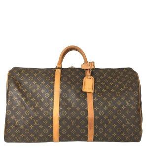 Louis Vuitton Keepall 60 Monogram Canvas Reisetasche Tasche Weekender