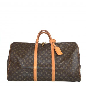 LOUIS VUITTON KEEPALL 60 REISETASCHE AUS MONOGRAM CANVAS
