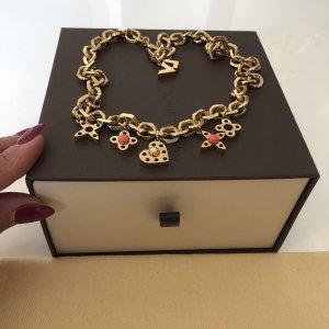 Louis Vuitton Gold Chain gold-colored-salmon