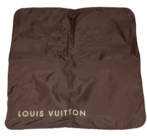 Louis Vuitton Suit Bag dark brown synthetic