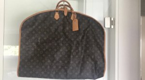 Louis Vuitton Suit Bag dark brown-camel