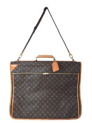Louis Vuitton Kleidersack Monogram Canvas mit zwei Kleiderbügeln Reisetasche