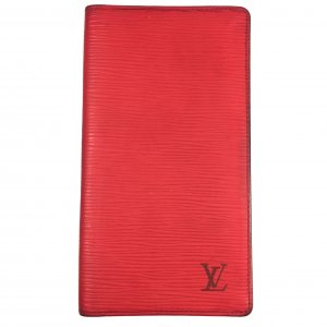 Louis Vuitton Kreditkartenetui Geldbörse Epi Leder Rot
