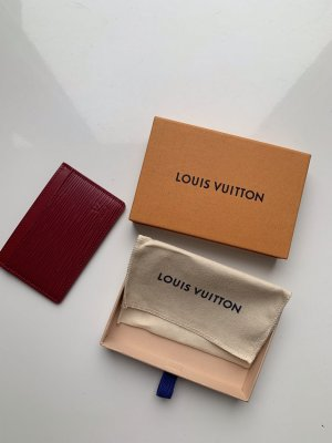 Louis Vuitton Kreditkartenetui in Fuchsia! NEU!