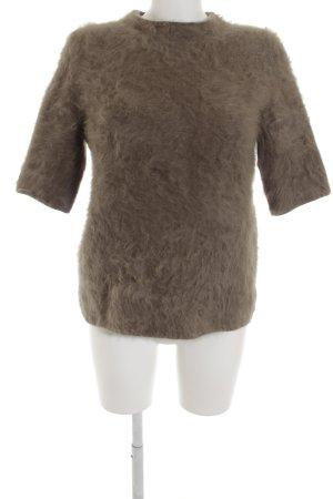 Louis Vuitton Jersey de manga corta marrón grisáceo look casual