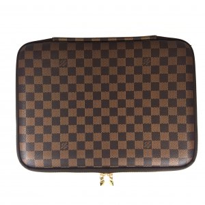 LOUIS VUITTON LAPTOP HÜLLE PM AUS DAMIER EBENE CANVAS