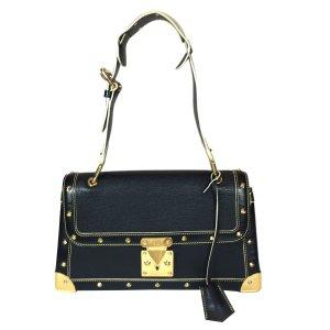 Louis Vuitton Handbag black-gold-colored leather
