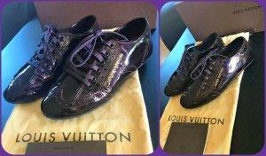 Louis Vuitton Leder Sneakers farbe Burgundy Neu mit OVP