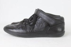 Louis Vuitton Ledersneaker Gr. 36 1/2 schwarz Echtleder (18/9/341)