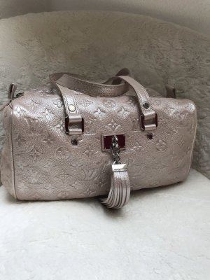 Louis Vuitton Bowling Bag rose-gold-coloured-pink leather