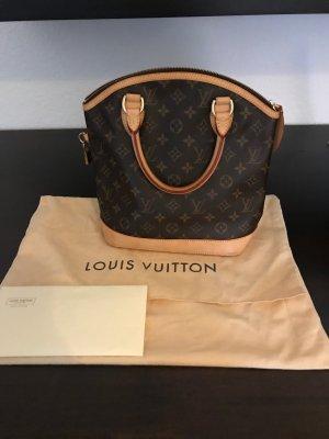 Louis Vuitton Sac à main rose chair-brun