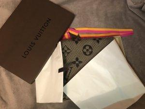 Louis Vuitton Écharpe en tricot gris-noir
