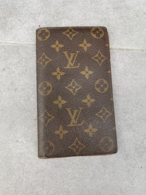 Louis Vuitton Cartera marrón