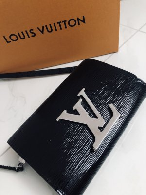 "LOUIS VUITTON ""LOUISE"" GM EPI CLUTCH BAG schwarz TOP-Zustand"