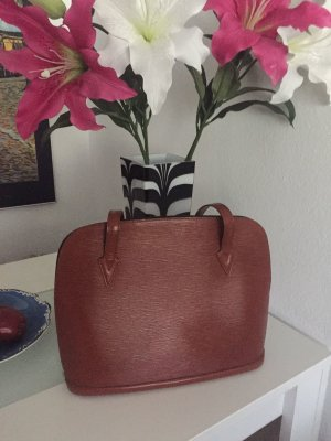 Louis Vuitton Lussac / Alma Tote Bag in Epi Leder Braun