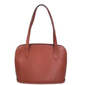 Louis Vuitton Lussac Epi Leder Kenyan Fawn Braun Tasche Handtasche