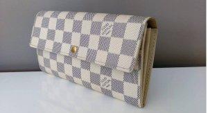 Louis Vuitton Portafogli bianco-azzurro Pelle