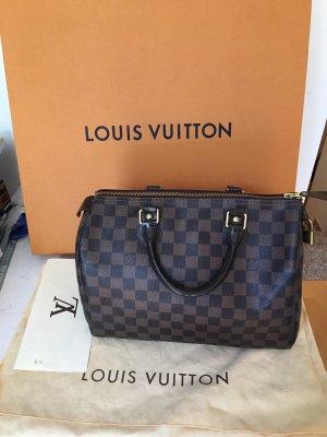 Louis Vuitton Bolso marrón oscuro-marrón Cuero