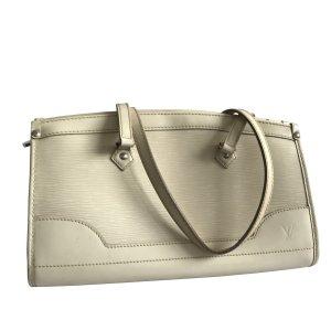 Louis Vuitton Madelaine white leather