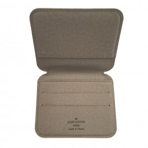 Louis Vuitton Card Case grey brown others