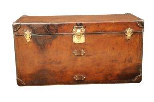 Louis Vuitton Malle courrier cuir