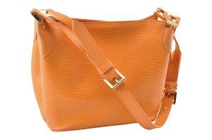 Louis Vuitton Sac porté épaule orange cuir