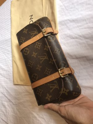 Louis Vuitton Pochette brun-brun noir