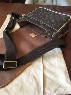 Louis Vuitton Sac bandoulière brun matériel synthétique