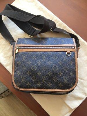 Louis Vuitton Cartera marrón Material sintético