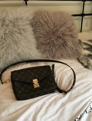 Louis Vuitton Gekruiste tas beige-bruin