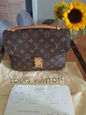 Louis Vuitton Handbag bronze-colored-dark brown