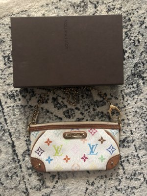 Louis Vuitton Milla Multicolor Pochette Monogram Tasche Clutch