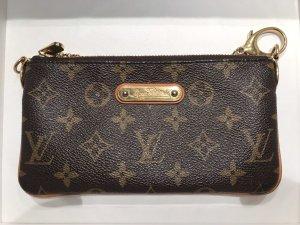 Louis Vuitton Bolso de mano marrón-negro