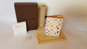 Louis Vuitton Custodie portacarte bianco Pelle