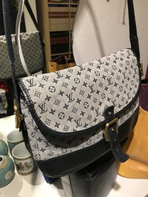 Louis Vuitton Mini Lin Berangere Marjorie GM Monogram blue