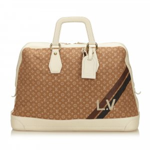 Louis Vuitton Mini Lin Initiales Isfahan Travel Bag