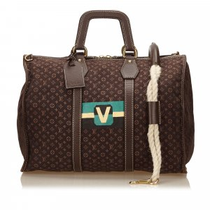 Louis Vuitton Mini Lin Initiales Keepall