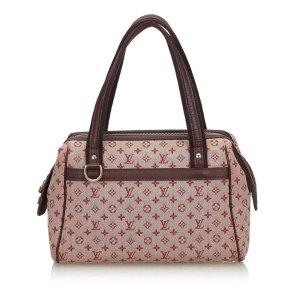 Louis Vuitton Bolso rojo Algodón