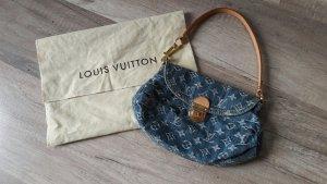 Louis Vuitton Mini Pleaty Pochette Tasche Denim Monogram
